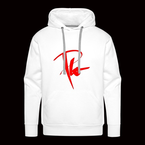 Plo Rotes Logo - Männer Premium Hoodie