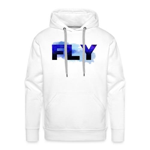Paint Fly Design - Men's Premium Hoodie