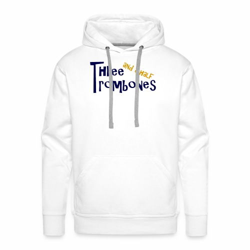 Three and a half Trombones Logo - Männer Premium Hoodie