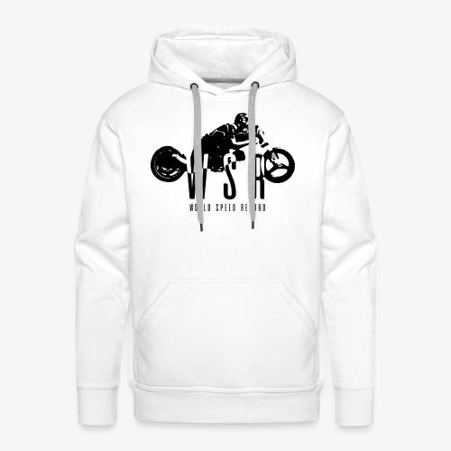 Team WSR - Sweat-shirt à capuche Premium pour hommes