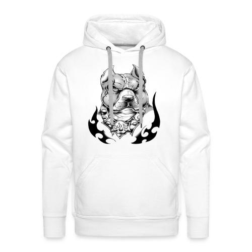 street pitt - Sweat-shirt à capuche Premium pour hommes