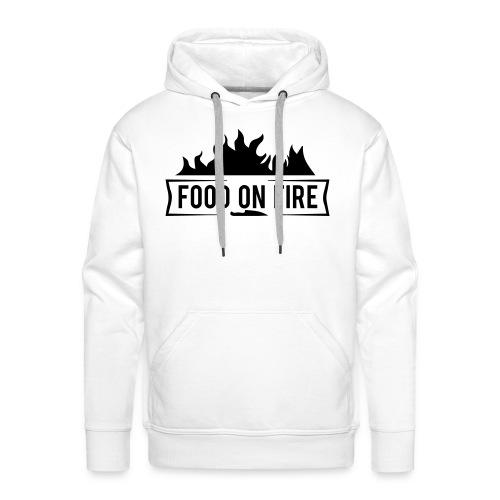 Food on Fire - Männer Premium Hoodie