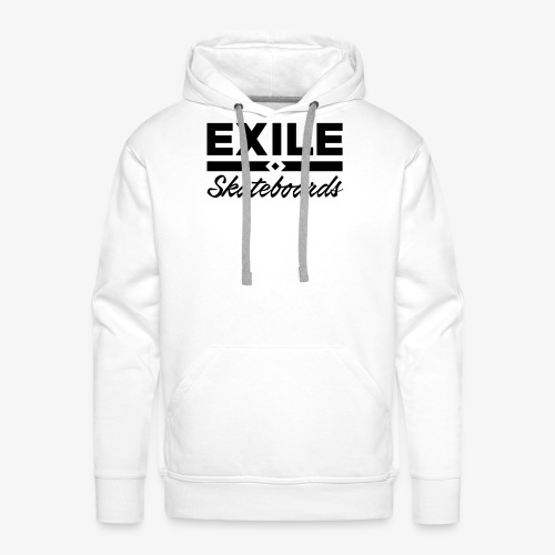 Exile Skateboards Official Merch - Men's Premium Hoodie