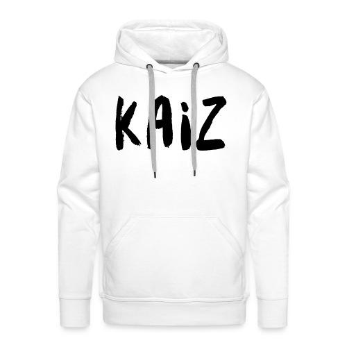 KAIZ LOGO 2 - Felpa con cappuccio premium da uomo