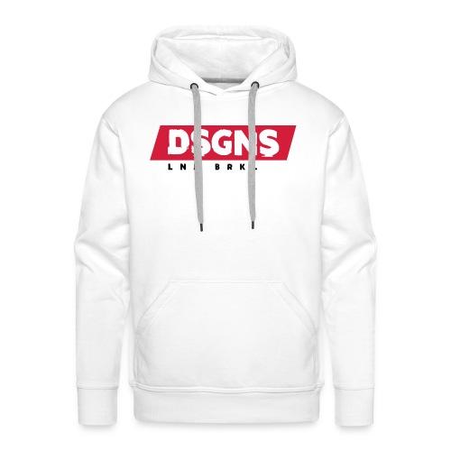 DSGNS Red Label Hoodie - Männer Premium Hoodie