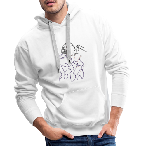 Foda FanArt - Sweat-shirt à capuche Premium pour hommes