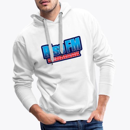 Rise FM Denmark Text Only Logo - Herre Premium hættetrøje