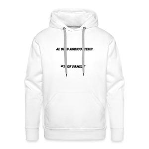 Articles Je suis agriculteur par TCOF YTB - Sweat-shirt à capuche Premium pour hommes