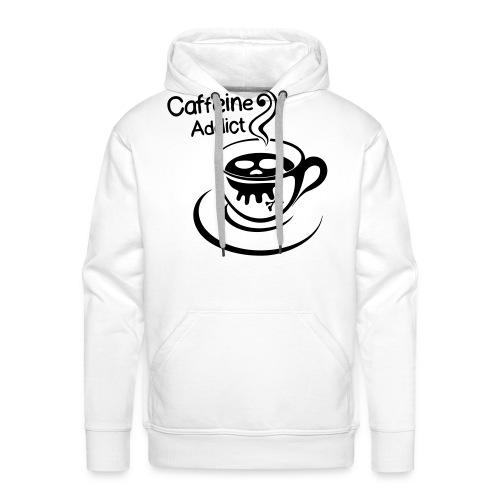 Caffeine Addict - Mannen Premium hoodie