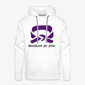 BJJ Purple Belt Clothing - Men's Premium Hoodie