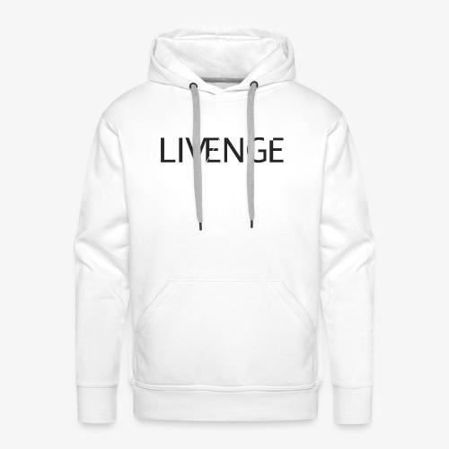 Livenge - Mannen Premium hoodie