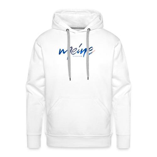 Meine Logo Blau - Männer Premium Hoodie