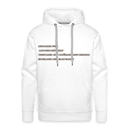 NICE HOODIE AND MOBILECASES - Männer Premium Hoodie