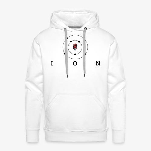 logo ION - Sweat-shirt à capuche Premium pour hommes