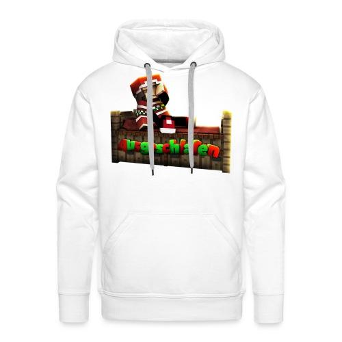 #Ausgeschlafen Weihnachts-Hoddie - Männer Premium Hoodie