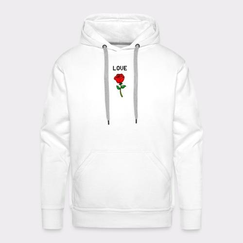 Love B. - Herre Premium hættetrøje