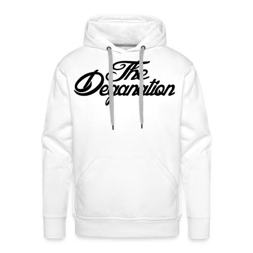 The Deganation - Premium hettegenser for menn