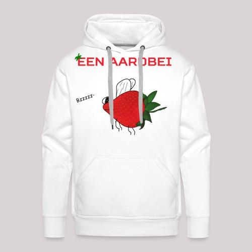 Een aardbei - Mannen Premium hoodie