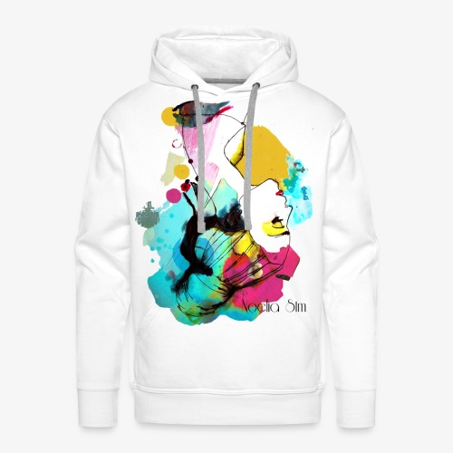 colour woman - Sudadera con capucha premium para hombre