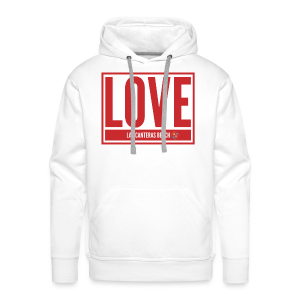 Love Las Canteras - Sudadera con capucha premium para hombre