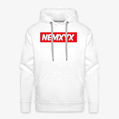 NEMXYX - Felpa con cappuccio premium da uomo