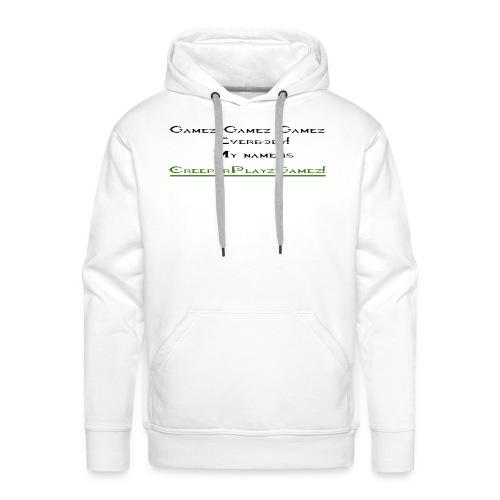 cpg intro - Men's Premium Hoodie