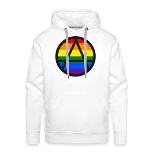 Logo ZELA drapeux gay - Sweat-shirt à capuche Premium pour hommes