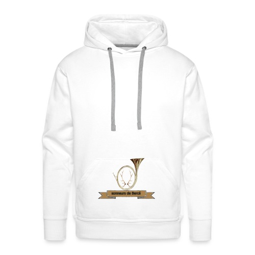 sonneurs de Bercé - Sweat-shirt à capuche Premium pour hommes