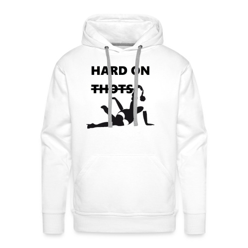 Hard on thots (censored) - Mannen Premium hoodie