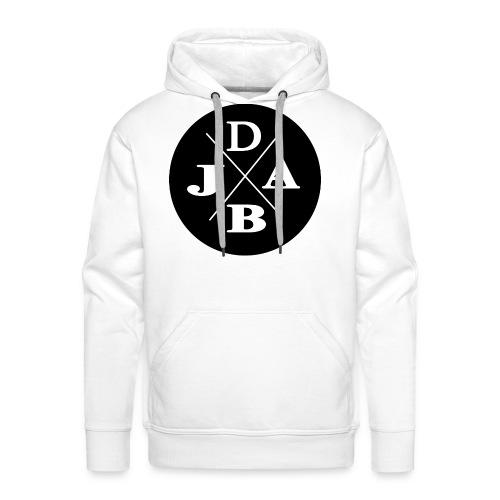 DJAB schwarz & weiß - Männer Premium Hoodie