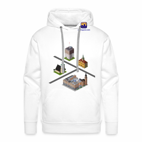 Raumagame mix for white / bale bg - Men's Premium Hoodie