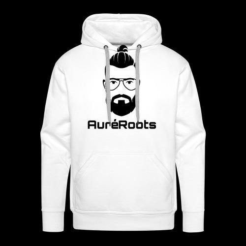 Auréroots noir - Sweat-shirt à capuche Premium pour hommes