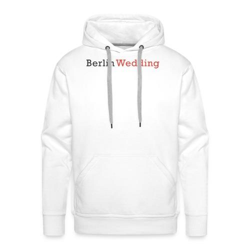 Berlin Wedding - Männer Premium Hoodie