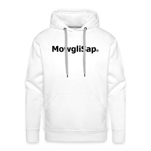 MowgliSap OFF - Sweat-shirt à capuche Premium pour hommes