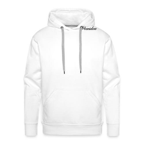 Poseidon Simple Logo - Men's Premium Hoodie