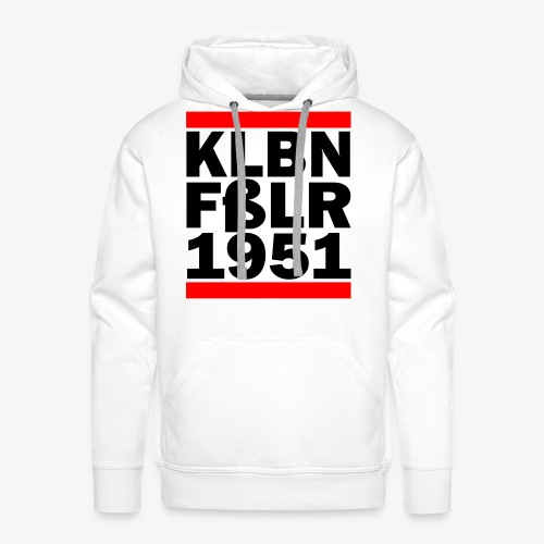 GUEST KLBNFßLER 1951 black - Männer Premium Hoodie