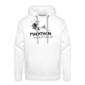 marathon-png - Bluza męska Premium z kapturem