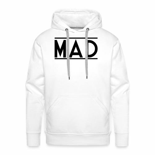MAD - Felpa con cappuccio premium da uomo