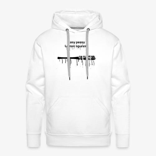 Easy Peasy Lucille - Sweat-shirt à capuche Premium pour hommes