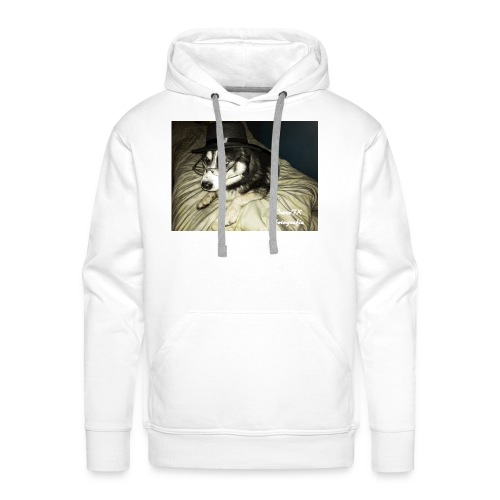 Husky möchte auch süßes oder saures - Männer Premium Hoodie
