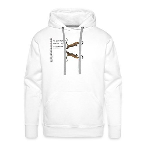 panthère - Sweat-shirt à capuche Premium pour hommes