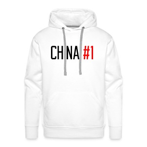 China #1 (Black) - Men's Premium Hoodie