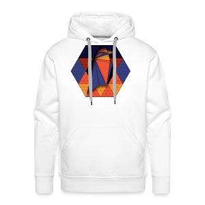 Raven Hexagon - Men's Premium Hoodie