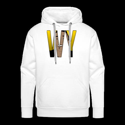 WaaromYannick Regular T-Shirt - WY - Mannen Premium hoodie