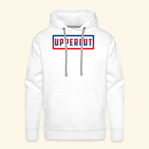 Collection Retro Uppercut© - Sweat-shirt à capuche Premium pour hommes