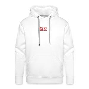 Gizz rood - Mannen Premium hoodie