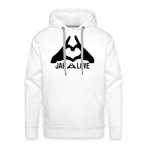 Jah Love - Sweat-shirt à capuche Premium pour hommes