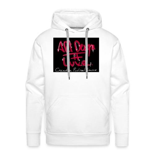 7539FBAC 2D44 4D35 A924 82665DBF06E1 - Sweat-shirt à capuche Premium pour hommes