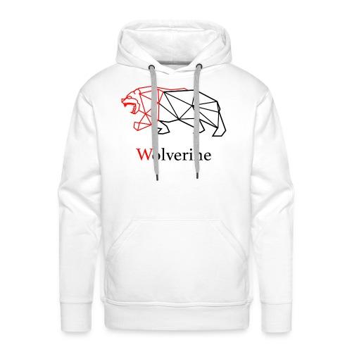 wolverine amine - Men's Premium Hoodie