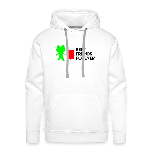 Best friends forever - Men's Premium Hoodie